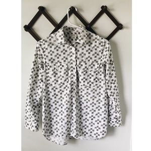 Madewell Pop Over Button Down